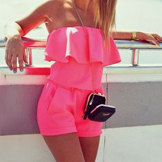 2016 New Summer Shorts Strapless Siamese Leggings Playsuits Jumpsuit Beach Off Shoulder Playsuit Rompers Womens Romper B0107