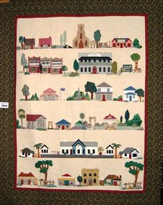 House Quilt Blocks - and they're free! - Quilting from Bellaonline