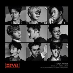 JULY 16TH!! THE BOYS (my beloved ahjussi-s) are making their comeback! I CAN'T WAIT OH MY GOD!!!!! #DEVIL #SUPERJUNIOR