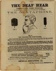 The dentaphone.