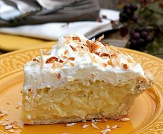 The Best Coconut Cream Pie (Tutorial) See how easy it is to make a homemade pie filling from scratch.  You're going to love it because it's THE BEST COCONUT CREAM PIE EVER!