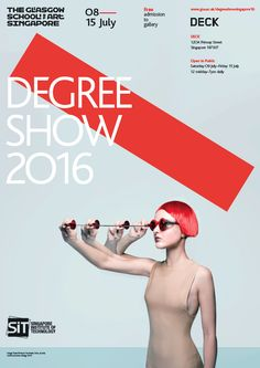 GSofA Singapore Degree Show 2016, 8 - 15 July 2016. The annual Degree Show at The Glasgow School of Art Singapore, showcasing final year projects from graduating students in Communication Design and Interior Design.
