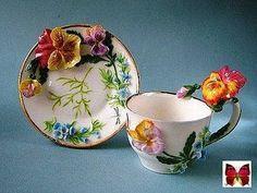 Tea Cup Set, My Cup Of Tea, Tea Cup Saucer, Teapots And Cups, Teacups, Fairy Tea Parties, Kitchen Organisation, Antique Tea Cups, China Tea Cups