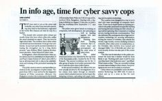 Time for Cyber Savvy Cops - www.AsianLaws.org