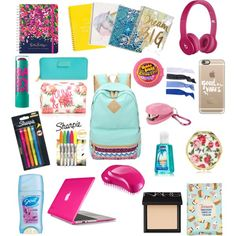 back to school what's in my backpack 2015 - Google Search