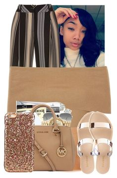 """""""Untitled #2972"""" by alisha-caprise ❤ liked on Polyvore featuring Blue Vanilla, Ray-Ban and Charlotte Russe"""
