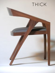 made in sf. (thick chair)