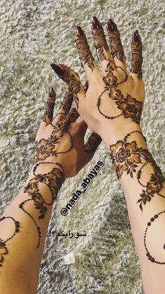 Latest Henna Designs, Floral Henna Designs, Finger Henna Designs, Arabic Henna Designs, Mehndi Designs For Beginners, Mehndi Designs For Fingers, Henna Tattoo Designs, Khafif Mehndi Design, Mehndi Designs 2018