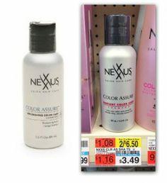 FREE Nexxus Shampoo