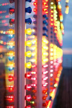 FunFair Lights. Brighton.  by kris Atomic