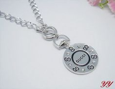 Gucci Necklace-010 Valentine Day Gifts, Holiday Gifts, Valentines, Cheap Gucci, Washer Necklace, Chanel, Stuff To Buy, Jewelry, Xmas Gifts