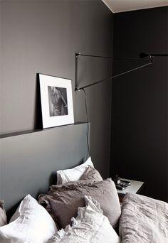 The Design Chaser: Dark Walls in the Bedroom   x 3 — Designspiration