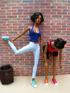 Bobby Jones doll dioramas flickr photostream