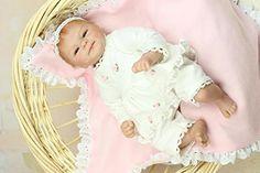 npkdoll Reborn Baby-Puppe Hard Silikon 40,6cm 40cm magnetisch Lovely lebensecht Spielzeug Cute Boy Girl Smile weiß: Amazon.de: Küche & Haushalt
