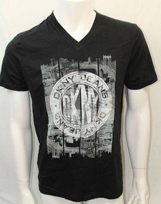 DKNY Shirt. Size XLarge. Short Sleeve. Color Black. | eBay!