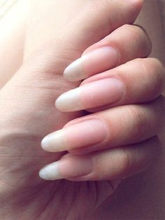 As we all know, today& fashion is gel nails. Neon colors or natural, we all love new designs. today we want to write especially about natural gel nails. Acrylic Nails Natural, Long Natural Nails, Almond Acrylic Nails, Summer Acrylic Nails, Almond Nails, Natural Hair, Long Round Nails, Ballerina Nails Designs, Pink Nails