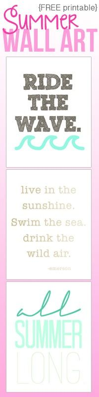 awesome free summer printables, print 1 or all 3 to use together! | www.moritzfineblogdesigns.com