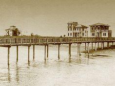 Lignano Sabbiadoro Art Nouveau, Seaside, Lei, Architecture, Beach, Places, Landing, Liberty, Vintage