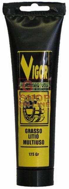 VIGOR GRASSO UNIVERSALE AL LITIO GR. 125 http://www.decariashop.it/oli-lubrificanti/19386-vigor-grasso-universale-al-litio-gr-125.html