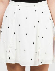 Samra Skirt In Ivory $48