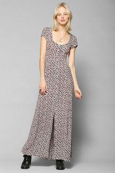 Kimchi Blue Georgina Button-Down Maxi Dress