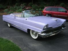 Late in 1952, stylists were working on the first clay models of the 1956 Lincoln. The basic dimensions were based on the 1952 cars, but as the drawings took ...