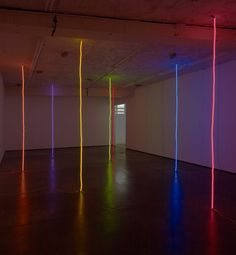untitled (lines) | peter coffin  #light_art  Night light.  Or is it nite lite?  Or some combination?
