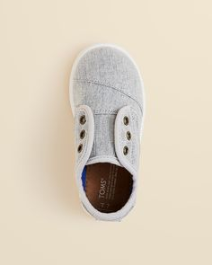 TOMS Boys' Chambray Paseo Low Top Sneakers - Baby, Walker, Toddler | Bloomingdale's