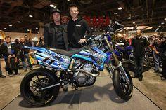 Yamaha WR450F Ben Spies Custom Boy Toys, Toys For Boys, Yamaha Wr, Roland Sands, Dual Sport, Bike Stuff, Dirt Bikes, Motocross, Motto