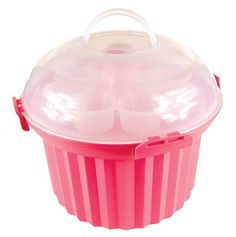 Amazon.com: Fox Run Cupcake Carousel, Pink: Kitchen & Dining