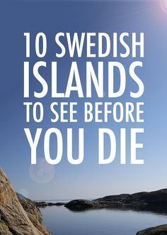 There's more to Sweden than the mainland! Here are 10 of the best and most beautiful Swedish islands, along with tips on how to reach them. Sweden Places To Visit, Visit Sweden, Kingdom Of Sweden, About Sweden, Travel Abroad, Travel Tips, Travel Europe, Travel Ideas, Travelling Europe