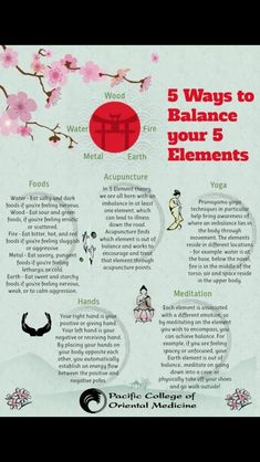 Balance your 5 elements