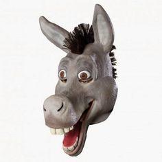 Máscara Asno de Shrek   Merchandising Películas