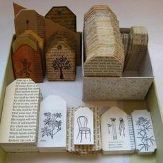 Enlevez la poussière de vos vieux livres endommagés et faites-en quelque chose de nouveau et d'utile!