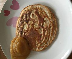 Rezept Dinkelvollkorn-Pfannkuchen OHNE Zucker von Jules184 - Rezept der Kategorie Baby-Beikost/Breie