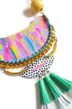 boo+boo Tribal Necklace