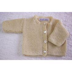 Classic Moss Stitch Cardigan Knitting pattern by heaventoseven Cardigan Pattern, Baby Cardigan, Wool Cardigan, Baby Knitting Patterns, Knitting Designs, Baby Patterns, Moss Stitch, Knitting Needles, Baby Gifts