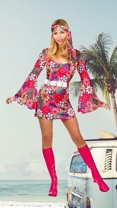 285eab7b371e6 Die 108 besten Bilder von Klassiker // Hippie & Flower Power Kostüme ...