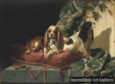 King Charles Spaniels by Vincent de Vos