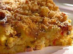 I MADE THIS Savory Breakfast Pudding Recipe courtesy Emeril Lagasse... AMAZING!