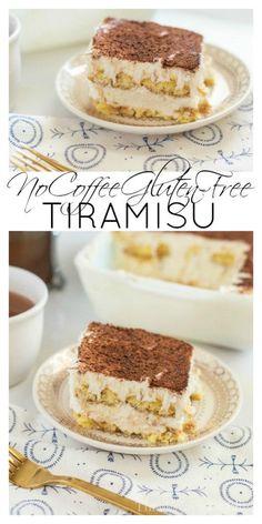Gluten-Free Tiramisu No Coffee Version That Tastes Authentic || This Vivacious Life #tiramisu #glutenfree #glutenfreedessert