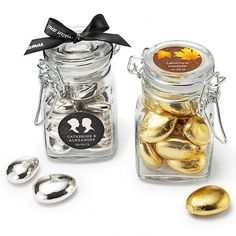 Wedding Gifts > Personalized Apothecary Jar Favors #1181993 - Weddbook