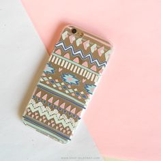 Clear TPU Case Cover - Doodle Aztec – Milkyway