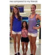 Short versus Tall Women ~ (For Dami)