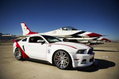 Ford Mustang GT USAF Thunderbirds Charity Edition good isn't it?