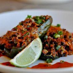 Quinoa Stuffed Poblano Peppers Recipe - ZipList