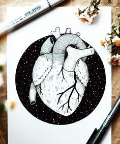 ❤️ #artsy #artist #artwork #artistsoninstagram #veganartsupplies #design #zeichnen #zeichnung #kunst #kunstliebe #künstler…