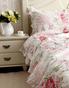 Share this page with others and get 10% off! pink rose bedding set