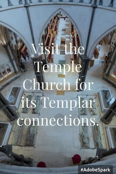 The Temple Church as seen in the DaVinci code.
