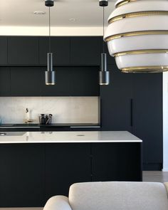 What Everybody Else Does When It Comes to Gorgeous Black Kitchen Ideas for Every Decorating Style - houseinspira Black Kitchen Cabinets, Black Kitchens, Home Kitchens, Modern Kitchens, New Kitchen, Kitchen Ideas, Kitchen Styling, Interior Design Kitchen, Decor Styles